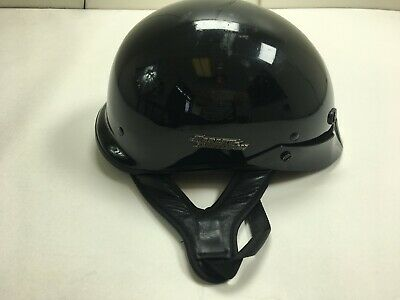 HARLEY DAVIDSON Genuine Open Face Helmet  Black DOT Size M 57-58cm