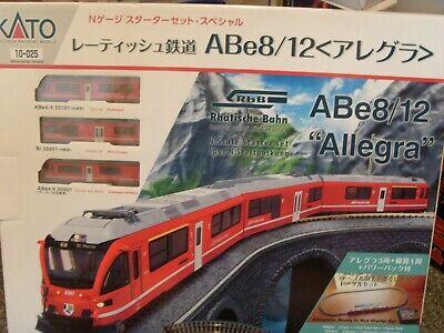 KATO 10-025 RHB ABE8/12 ALLEGRA EMU STARTER SET BRAND NEW BOXED.