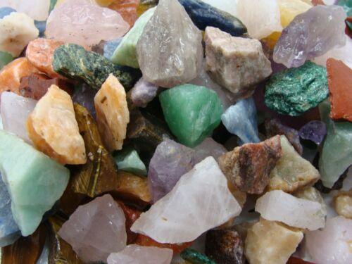 CRAFT ROCK MIX - 2000 CARAT Lots - Rough Rocks
