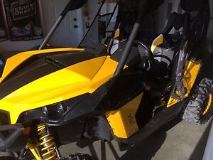 2013 Can-am Maverick XRS 1000 with trailer