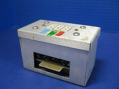Thermco 118155-001 Junction Box With 117840-001 Type B Thermocouple Pcb Used