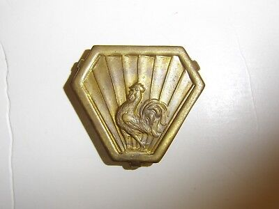 b2384 WW 2 Free French Expeditionary Force in Italy badge Roster IR3A111