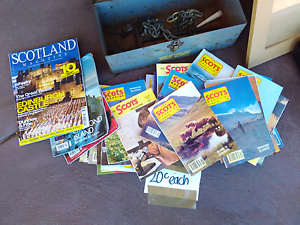 Scots magazines, Scotland,  various years x 36 Cooloongup Rockingham Area Preview