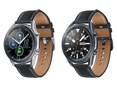 Samsung Galaxy Watch 3 Bluetooth Smart Watch 45mm - Mystic Black Silver...