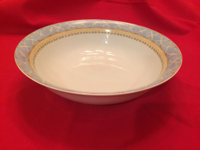 """9"""" ROUND ENCHANTED GARDEN FINE CHINA- HERITAGE MINT - VEGETABLE BOWL"""