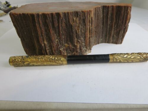 Victorian Gold Filled Repousse Umbrella Handle RP17