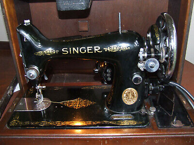 Vintage Singer electric sewing machine 1937 for sale  Shipping to Nigeria