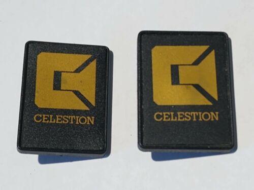 Two Vintage Celestion Speaker Badge Decal Logo