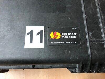 Peli Case Pelicase Hardigg 1550 Notfallkoffer Beatmungskoffer komplett gefüllt