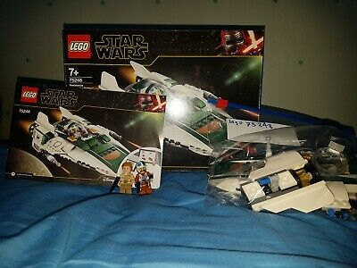 LEGO Star Wars Resistance A-Wing Starfighter (75248) complete , boxed , opened