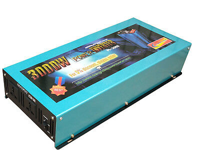 6000W surge power Power Inverter 12V DC to 110V 120V/car power/back up power