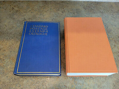SCOTT'S STANDARD POSTAGE STAMP CATALOGUE LOT 94TH EDITION 1938 & 1960 COMBINED