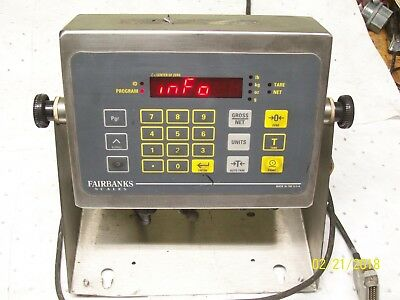 Fairbanks Scales Digital Scale Operator Display Indicator