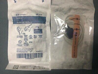Covidien Maxn Nellcor Neonatal Adult Spo2 Sensor 3kg 40kg Ex 2021 1 Unit