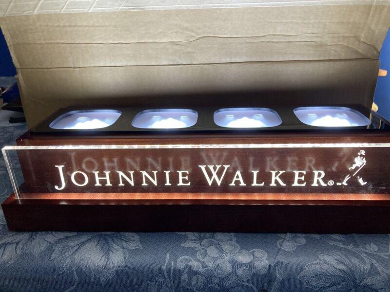J walker 4 Bottle Display