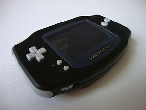 NEW-Nintendo-Gameboy-Advance-Console-RARE-Black-UNUSED-Bundle-With-Rayman-Game