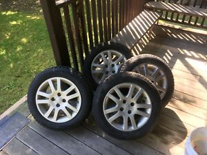Hankook i*pike winter tires Honda rims