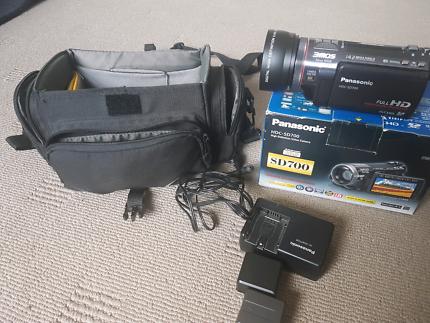 Panasonic sd700 full hd 3mos