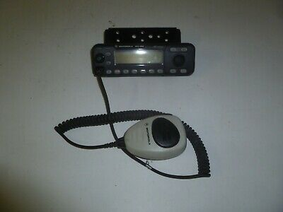 Oem Motorola Hcn1119c Mcs2000 Two Way Radio Rear Remote Control Head W Mic