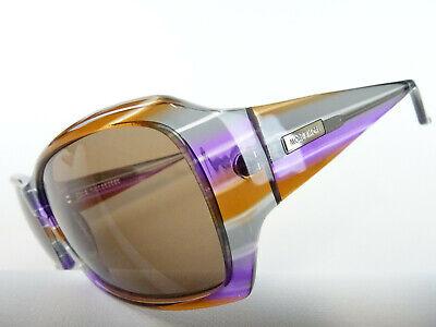 Marken- Sonnenbrille für Frauen bunt mehrfarbiger Kunststoff breite Bügel Gr. M