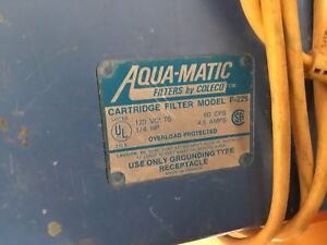 Electric Pool Filter With Hoses. (MAKE OFFER)