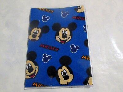 Mickey Mouse Passport Cover Fabric + Vinyl Custom  travel accessory child kids](Kids Passports)