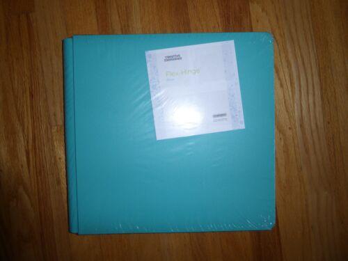 Creative Memories NIP 12 x 12 Album Tourquoise Coverset True Size