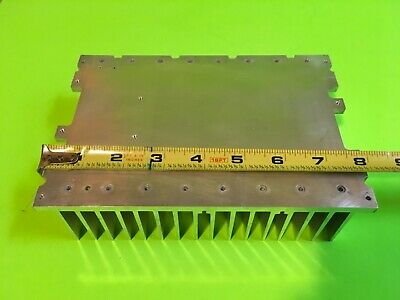 Large Extruded Aluminum Heat Sink 7 34in X 5 38in X 2in Reclaimed