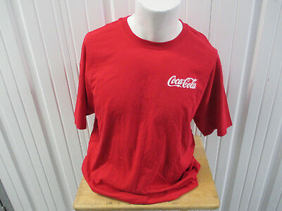 VINTAGE HANES COCA-COLA X SALSA CRUISE RED T-SHIRT NEW W/O TAGS