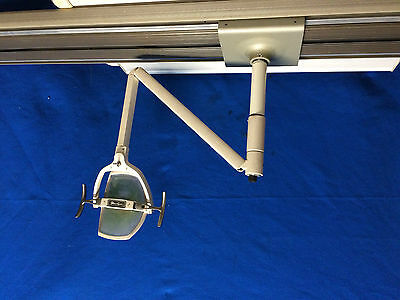 Dental Office Pelton Crane Lft Ii Track Light Bronze Or Silver Track  6527