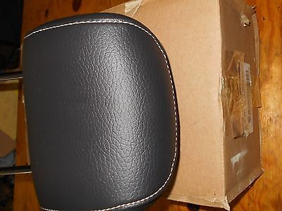 NEW 2010 2011 2012 FORD MUSTANG BLACK LEATHER SEAT HEADREST AR3Z-634611A08-BC