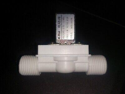 12v 12 Nc Plastic Electric Solenoid Valve 4.8watt Water Air Normally Closed6