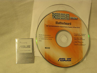 Asus M242 P4s533   333   133 Series Motherboard Chipset Support Cd