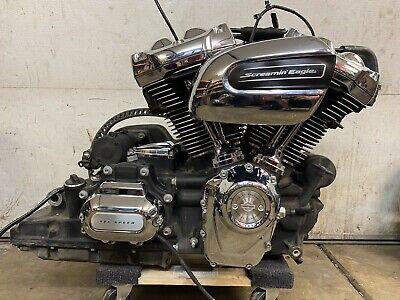 2017-2020 Harley Ultra Classic Flhtk Milwaukee 8 Engine Motor Transmission 107ci