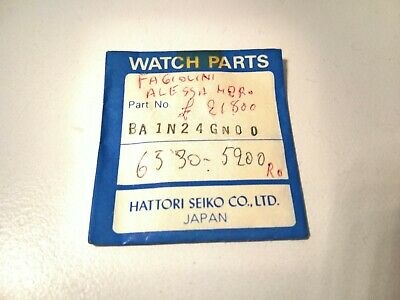 Ultra Rare Seiko Glass BA1N24GN00 For 6530-5200 And Other - Genuine 100%