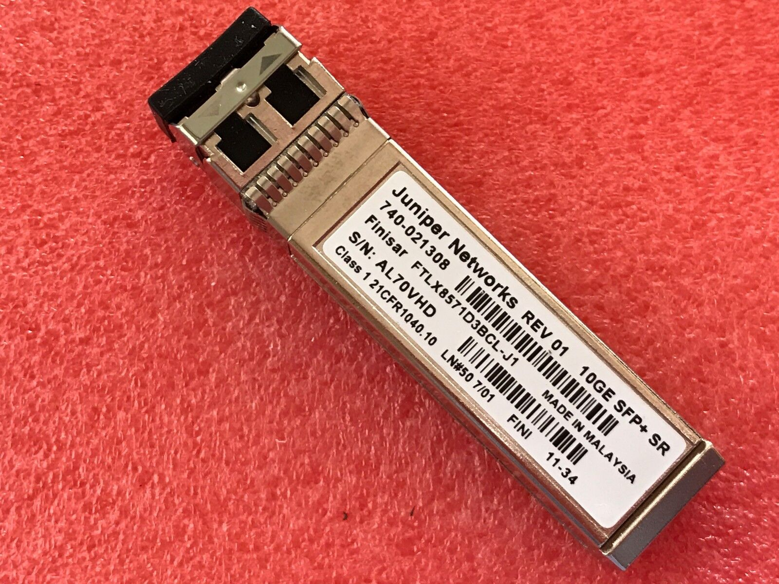 10G 850nm 300M Optical Transceiver compti Juniper EX-SFP-10GE-SR 740-021308 SFP