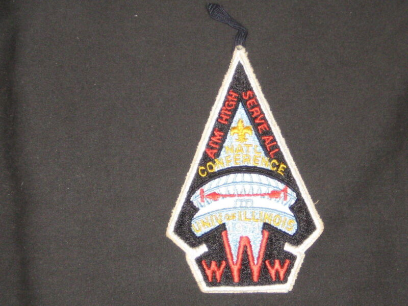 1971 NOAC Pocket Patch with Loop       c37