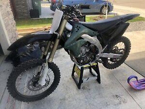 2007 kawasaki kx 450 must sell