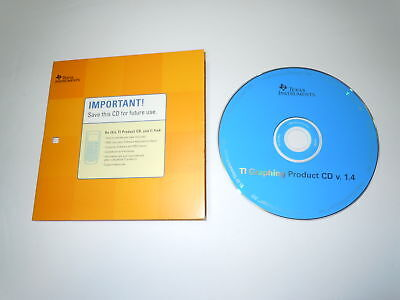 Texas Instrument TI Graphing CD V.1.4 for TI-89 Titanium and Voyage 200
