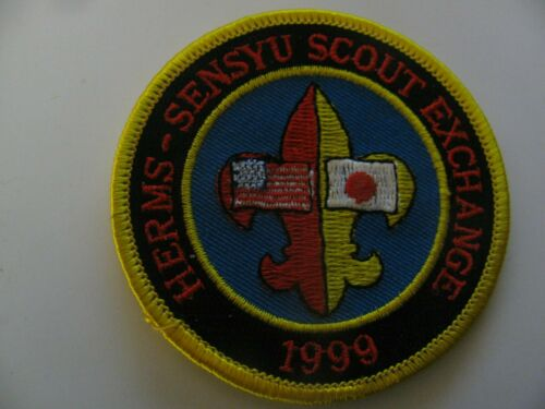 Boy Scout   Herms Sensyu Scout Exchange  Japan  Foreign Patch NOS Free Shipping
