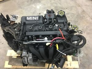2003 Mini Cooper engine