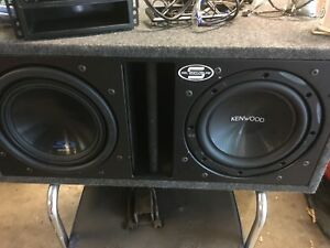"10"" Subs with Amp"