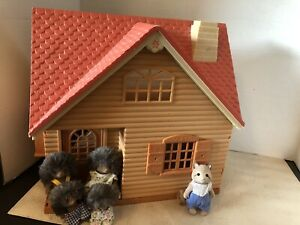 Calico Critters and Cottage