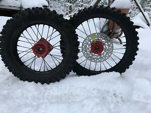 CRF 150r rims and tires