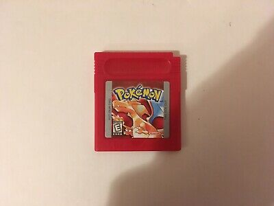 Pokemon Red Version For Nintendo Gameboy Great Condition