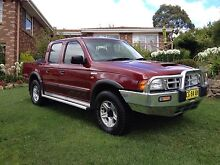 Ford Courier Turbo Diesel 4X4 Ute Cooma 2630 Cooma-Monaro Area Preview