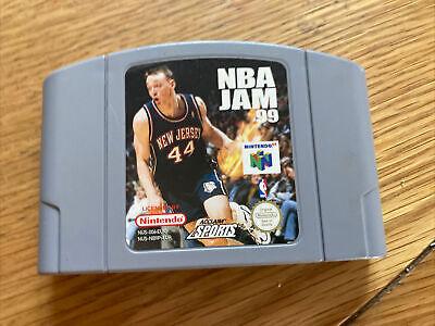 NBA Jam 99 Pal Cart Only Nintendo N64 Good Condition