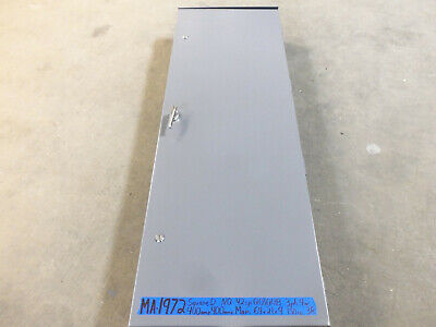 Square D 400 Amp Panel Panelboard Main 3ph 120v208v240v 3r Qoqob