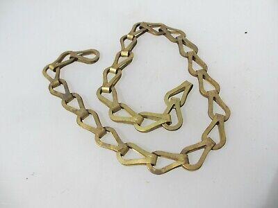 Antique Brass Lighting Chain Hanger Loop Chandelier Light Old 25