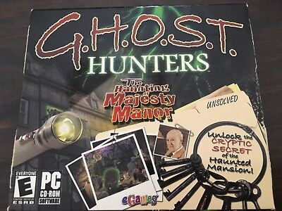 GHOST HUNTERS - The Haunting of Majesty Manor - (Ghost Hunters The Haunting Of Majesty Manor)